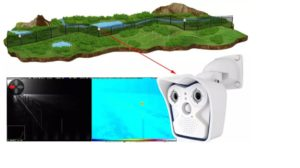 CAMERA MOBOTIX PROTECTION TERRAIN DE GOLF